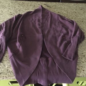 Plum coloured Wilfred sweater size XS